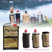 Gas Canister Cover Protector Camping Fuel Cylinder Storage Bag Outdoor Camping/