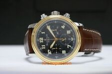 """Blancpain Leman Flyback Chronograph Stainless Steel & 18K Yellow Gold """"Rare"""""""
