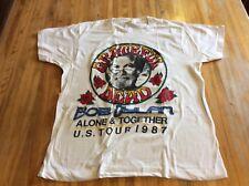 Grateful Dead & Dylan concert shirt from 1987