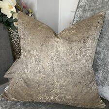Luxury Cushion Cover Arcadia Prestigious Textiles Fabric Bronze Gold Decor