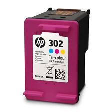 HP 302 Couleur Cartouche d'encre d'origine Neuf (F6U65AE-NP) Deskjet 2130 AiO
