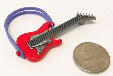 Playmobil Popstar Musician Band Red Electric Guitar 4512 5157 5605