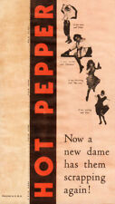 Hot Pepper Original  Movie Herald from the 1933 Movie