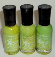 2 Sally Hansen Hard As nails Extreme Wear Polish GREEN WITH ENVY 110