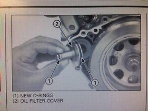 Montesa 4rt Oil Filter O-Rings