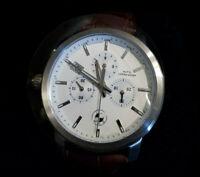 BMW Herren Armbanduhr Chronograph braunes Lederarmband 80262311777 NEU + OVP!