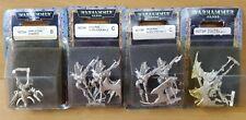 Dark Eldar Sybarite & 6 x Scourge with Splinter Rifles NEW in Blisters 40k OOP