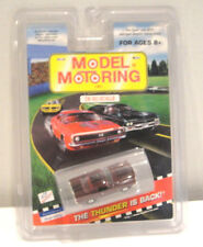 Model Motoring T-Jet Slot Car Ho Scale ( '65 Ford Mustang 2+2 Fastback Bur/Blk )