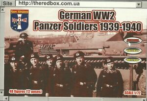 Orion 1/72 WW2 German Panzer Soldiers 1939-1940