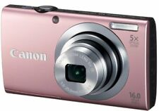 Canon Digital Camera Powershot A2400Is Pink 16 Million Pixels 5X