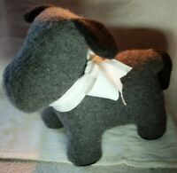 Midwest CBK Gray and Black Dog Door Stop Midwest of Cannon Falls 144704