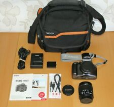 Canon EOS 1100D 12.2MP SLR Camera + Kit with EF-S IS II 18-55mm + Bag