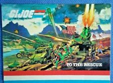 GI Joe 1984 Original Mobile Strike Force Mail in Offer Catalog Poster Mint