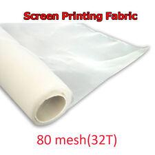 1 yard Silk Screen Printing 80M 32T Fabric White Mesh DIY Stretch Screen Fame