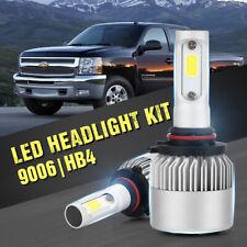 LED Headlight kit HB4 9006 White 6500K Bulbs for 1995-1999 Chevrolet Silverado