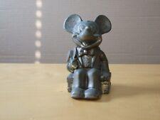 Disney Mickey Mouse Vintage Metal Bank - Free Shipping!