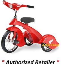MORGAN CYCLE RED BIRD STEEL VINTAGE RETRO STYLE TRICYCLE TRIKE WORKING LIGHT NEW