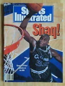 SHAQUILLE O'NEAL Sports Illustrated 11/30/92 Magazine No Label ORLANDO MAGIC