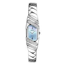 *Brand New* Seiko Women's Solar Tressia Diamond Accent Blue Dial Watch Sup331
