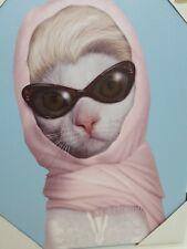 Empire Art Pets   'Princess' Graphic Art on Wrappe 16×12