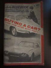 Auto Bluebook Buying a Car 1954 - 1960 (AH)
