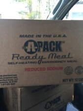 Case Of MRE's (12 Meals) A Pack Insp. Date 12/2019