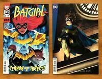 Batgirl 34 2019 Francis Manapul Main Cover + Joshua Middleton Cover B Variant NM