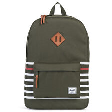 Herschel Supply Co. Heritage in Forest Night Offset Stripe  NWT Free Shipping
