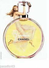 PUBLICITE ADVERTISING 116  2004  Chanel   parfum Chance