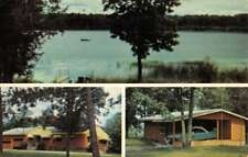 Deer River Minnesota Wonder In Lodge Multiview Vintage Postcard K70873