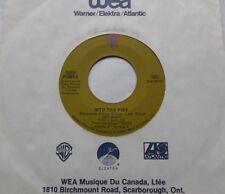 DEEP PURPLE Into the fire / Black Night CANADA ORIG 1970 HARD ROCK 45