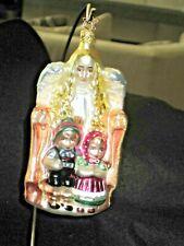 Old World Christmas By Inge Glas-Birgit Guarding My Children-Ltd. Edition