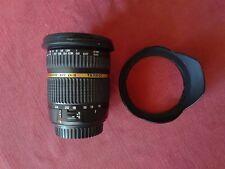 Tamron SP 10-24 mm F/3.5-4.5 Di II LD x CANON