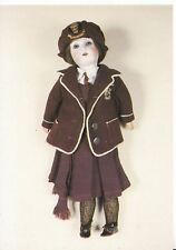 Museum Postcard - Doll In Uniform, Boulevard Secondary School Hull 1930 - AB3108