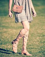 $535 Size 6 Stuart Weitzman Grecian Skin Suede Gladiator Strappe Heels Sandals