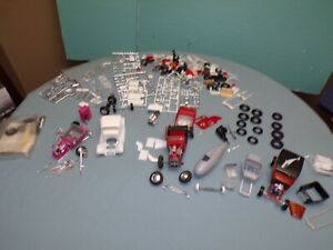 1/24 & 1/25 Hot Rod Model Kit Junk Yard Lot