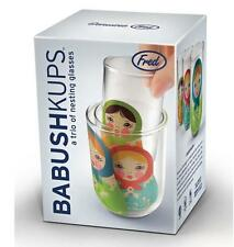 Babushkups - Russian Babushka Doll Nesting Glasses by FRED