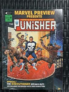 The Punisher Marvel Preview Presents #2 1975 VF/NM
