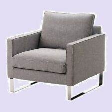 IKEA Mellby Armchair ELDRIS Cover Black White Houndstooth Check Chair  SlipcoverIKEA Armchair Slipcovers   eBay. Gray Armchair Slipcover. Home Design Ideas