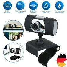 Full HD 1080P Webcam Kamera USB 3.0 Mit Mikrofon für Computer PC Laptop Notebook