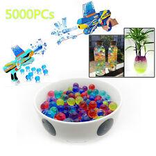 5000 Water Bullet Balls Pistol Toy Water Gun Soft Darts Crystal Mud Paintball