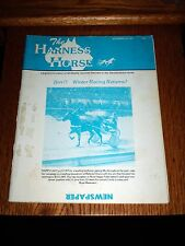 THE HARNESS HORSE 1977 Racing-HOLLYWOOD PARK-ROOSEVELT RACEWAY-GOVERNOR SKIPPER