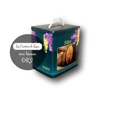 Vino Bianco Dry Bag in Box lt.5  - Vini Sfusi Sardegna -