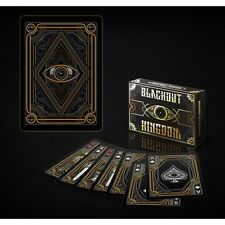 Blackout Kingdom Bicycle Deck Limited Side Tuck Of Playing Cards Magic Tricks