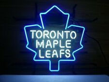 "Toronto Maple Leafs Neon Lamp Sign 20""x16"" Bar Light Beer Glass Windows Display"