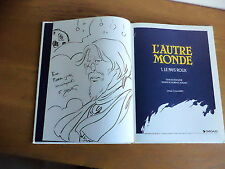 dédicace de F.Magnin et Rodolphe album l'autre Monde Tome 1 le pays roux