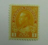 Canada SC #105 KING GEORGE V   MH F-VF One cent stamp