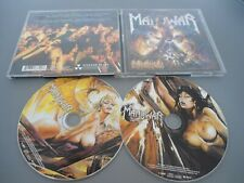 2 CD MANOWAR - HELL ON STAGE LIVE Picture CD Nude Cover RAR