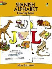 Spanish Alphabet Coloring Book [Dover Children's Bilingual Coloring Book]