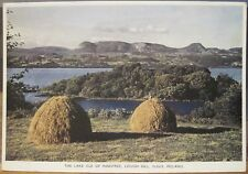 Irish Postcard LOUGH GILL Lake Isle Innisfree Hay SLIGO Ireland PC DeLuxe 209